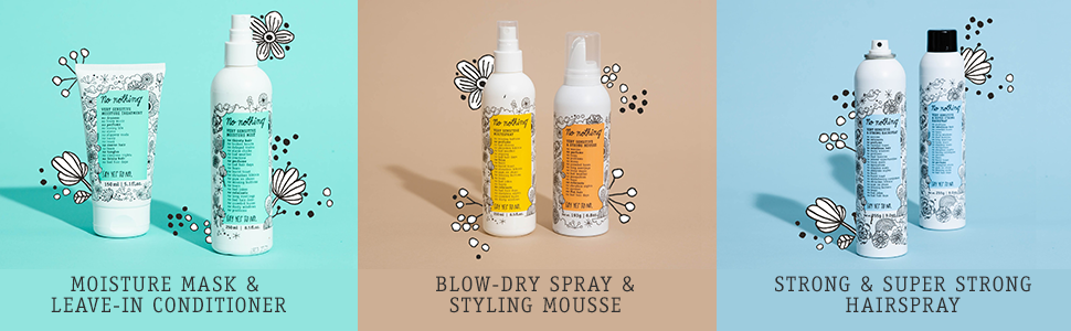 Fragrance Free Products Styling Hair Mask Hairspray