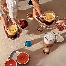 5 tailles de tasses pour s'adapter à toutes vos envies