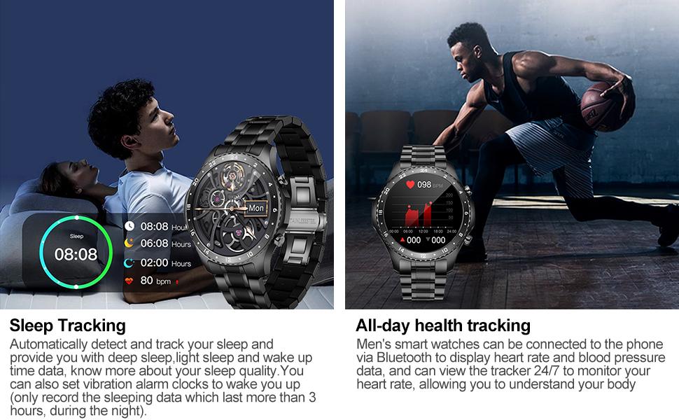 sleep monitor and heart tracking