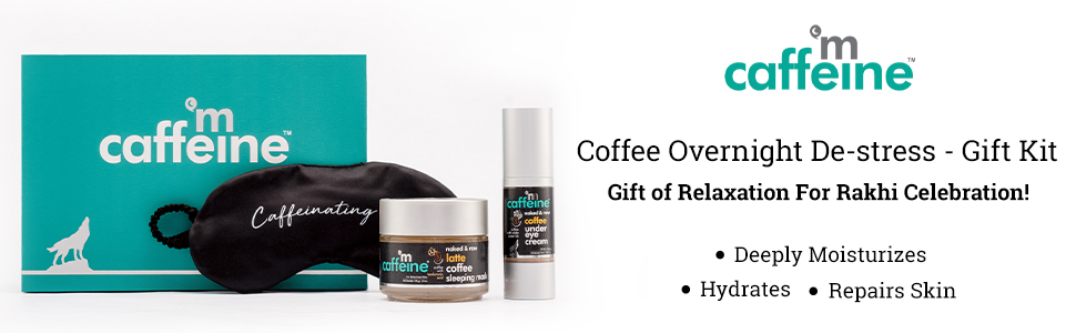 mCaffeine Coffee Overnight De-stress - Gift Kit