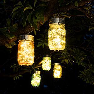 solar mason jar lid lights