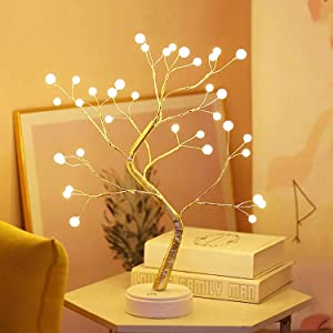 18Inch 36LED Acrylic Blossom Bonsai Light for Home & Offices