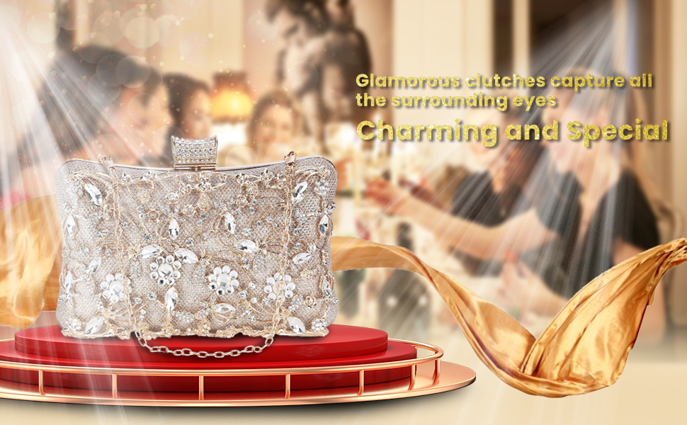 charming and special evening clutch