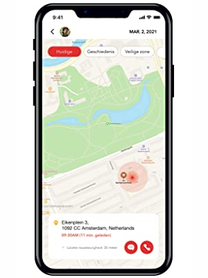 GPS mobiele telefoon
