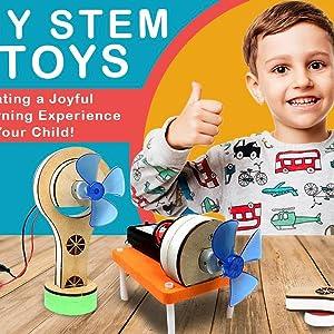 motor machines diy stem kit science project