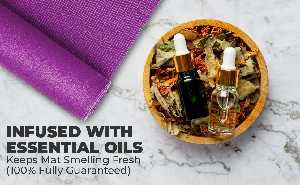 essential oils for fresh and relax