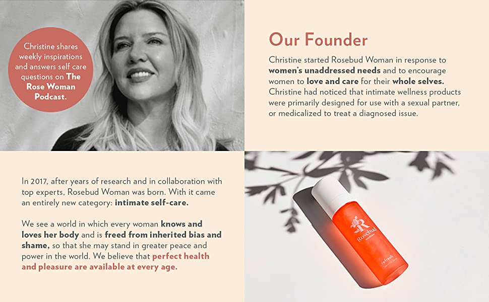 Christine founder perfect health and pleasure at every age