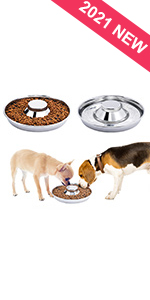 Stainless Steel Puppy Litter Bowl