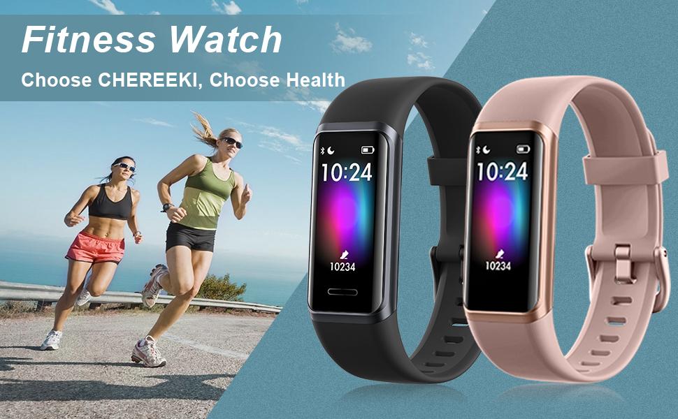CHEREEKI Fitness Watch