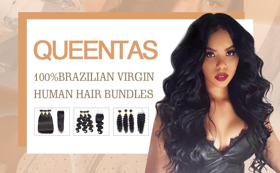 Queentas Human Hair Bundle