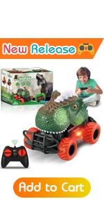 rc dinosaur toys car