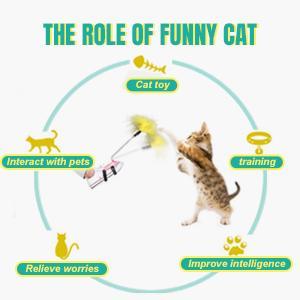 stick cat toy
