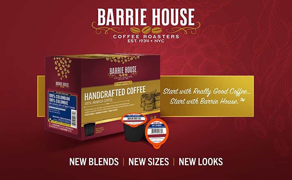 Start with really good coffee... start with Barrie House