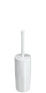 White Plastic Toilet Bowl Cleaning Brush