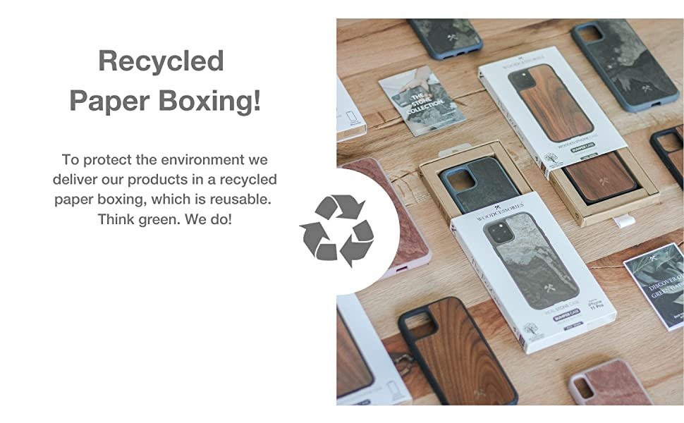 recycled paper boxing, protect environment