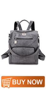 Grey Women Backpack