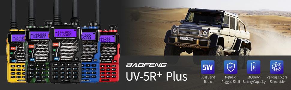 BAOFENG UV-5R+PLUS