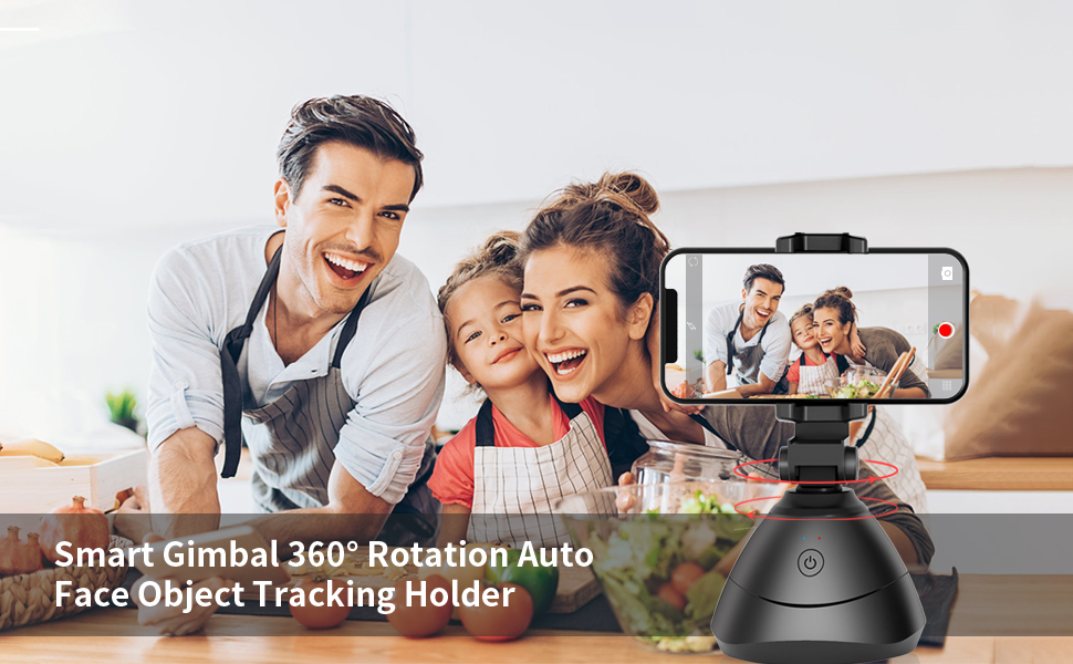 Smart Gimbal 360 rotation Auto Face Object Tracking Holder