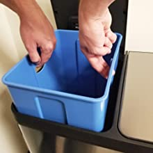 Remoable Inner Buckets