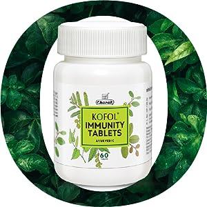 KOFOL Immunity Tablets, 100% Ayurvedic formula