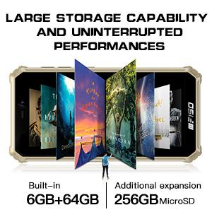 Octa-core processor,6GB RAM + 64GB ROM,expandable up to 256GB,large capacity storage Android 10.0