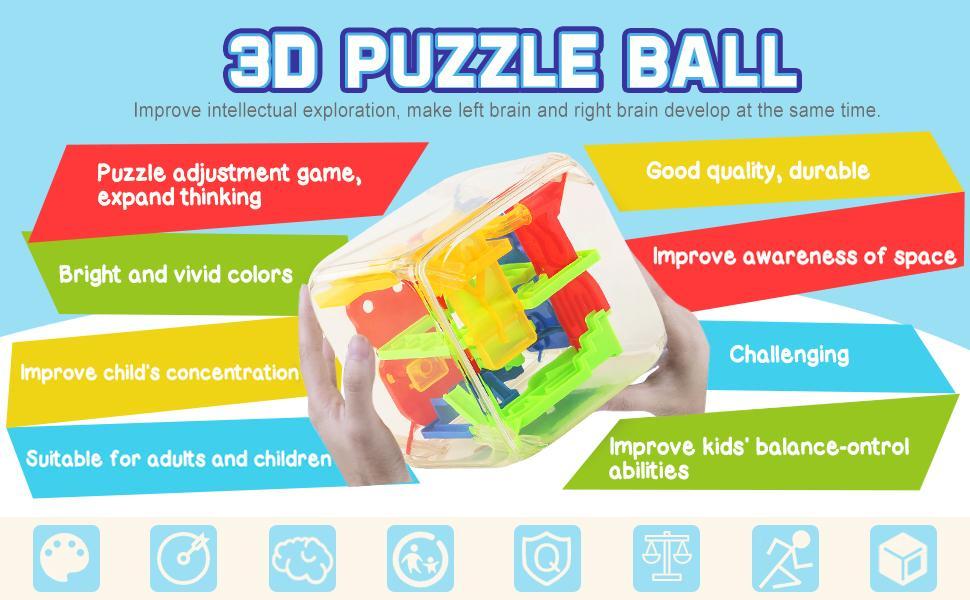Cube Maze Ball
