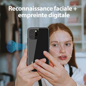 Déverrouillage par lecteur d'empreintes digitales & Déverrouillage par reconnaissance faciale
