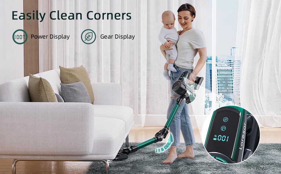 Easily Clean Corners
