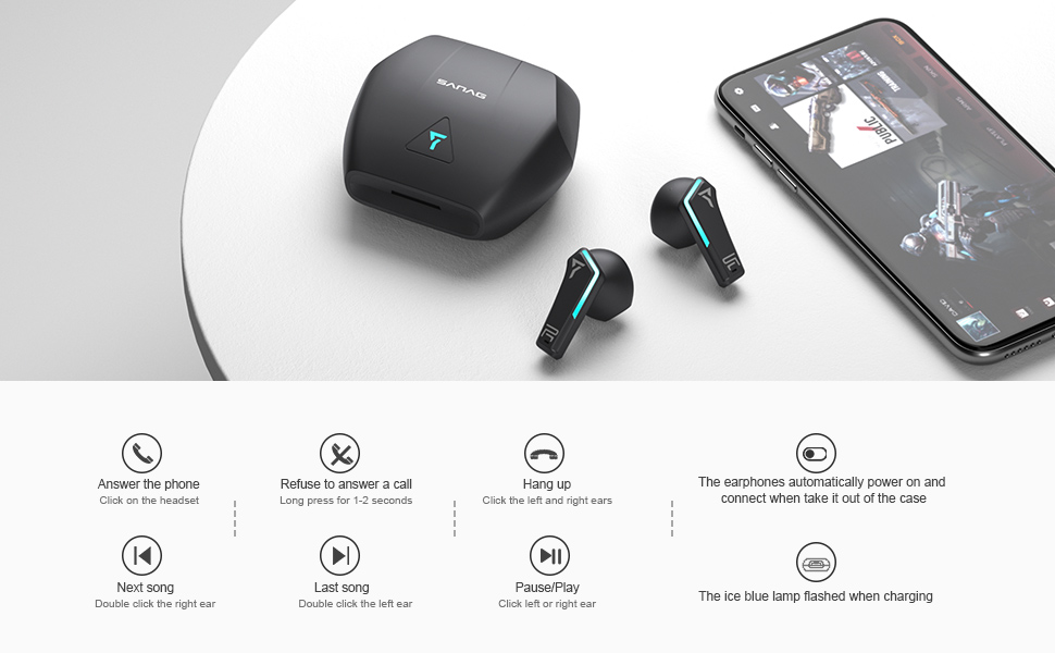 Sanag Xpro Wireless bluetooth earbuds