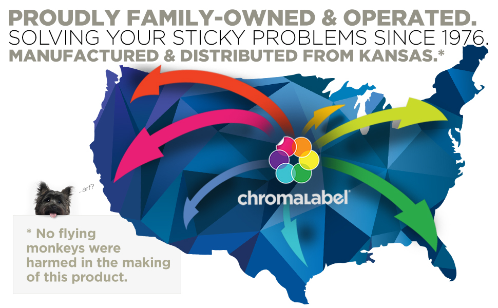 Proudly family-owned and operated since 1976. Made in the USA, distributed from Kansas