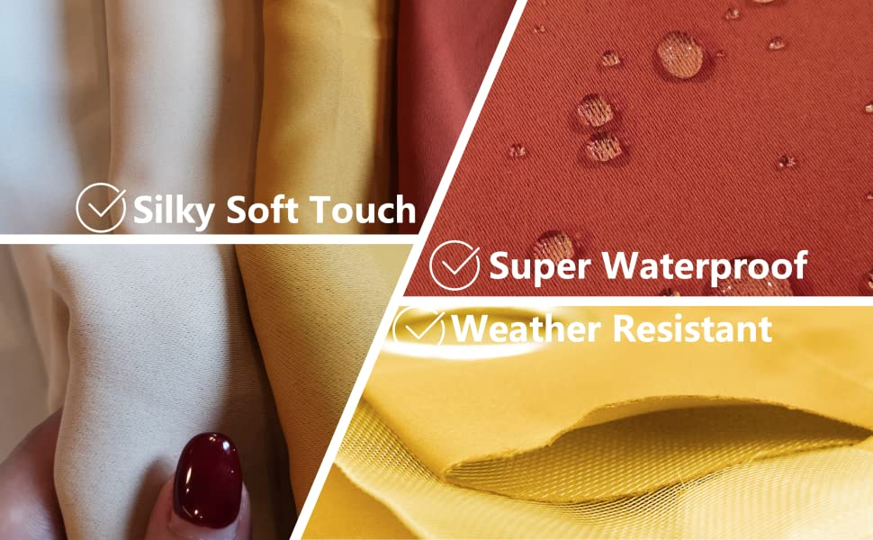 silky soft touch, Super Waterproof