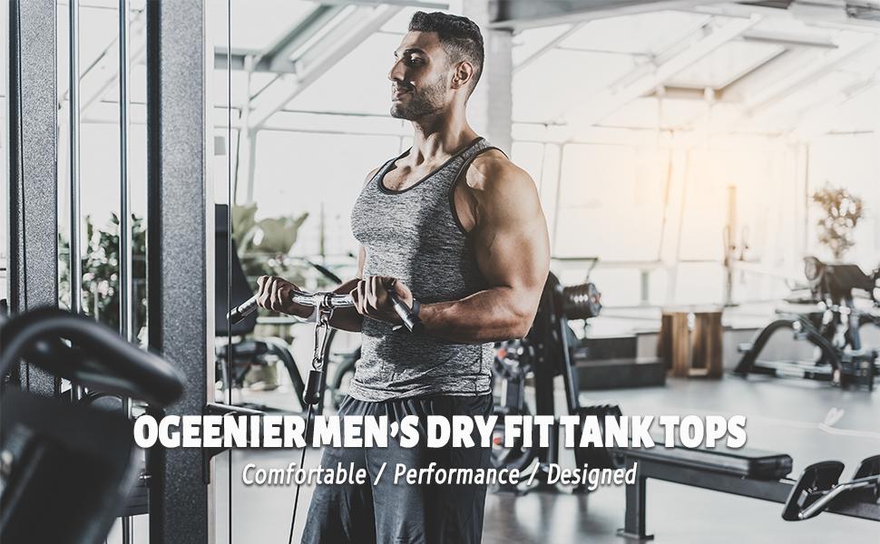 men's quick dry running tank tops sports tank tops shirts workout gym sleeveless tank tops