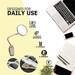 Designed for daily use