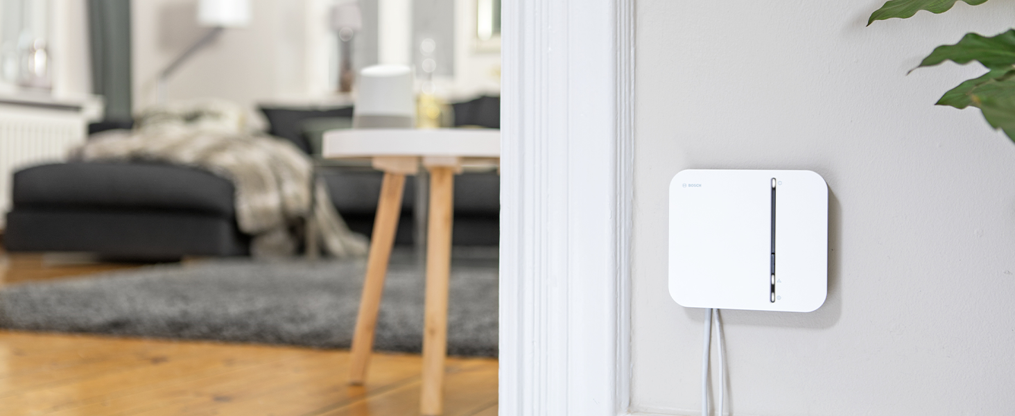 Bosch Smart Home Controller installed in a home