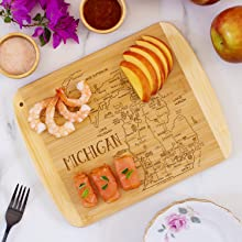 A Slice of Life Serving and Cutting Board