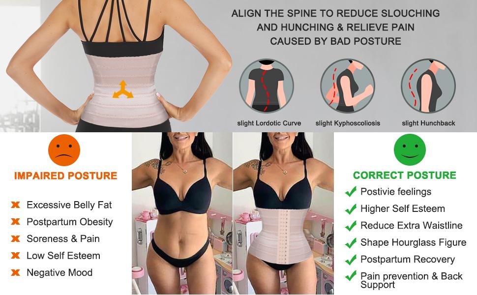 waist trainer corset for women