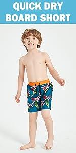 boys quick dry swim trunks