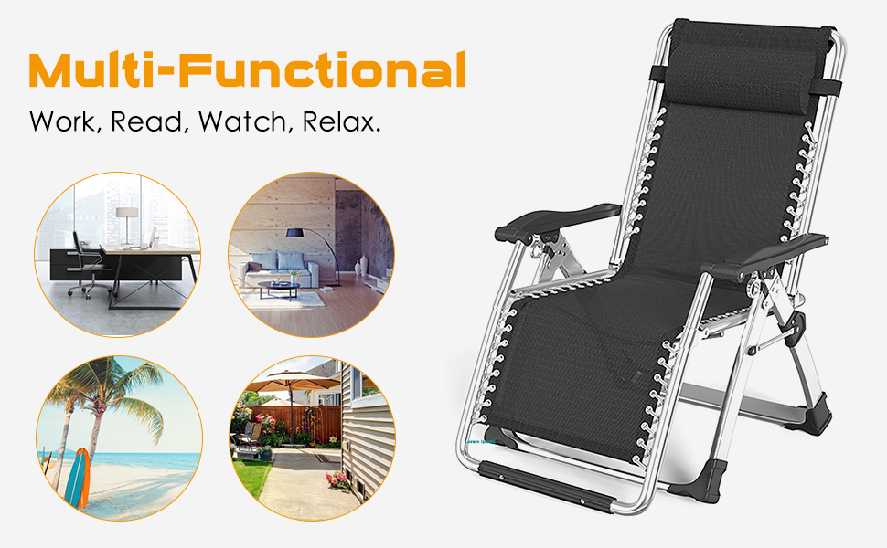 Portable Patio Recliners