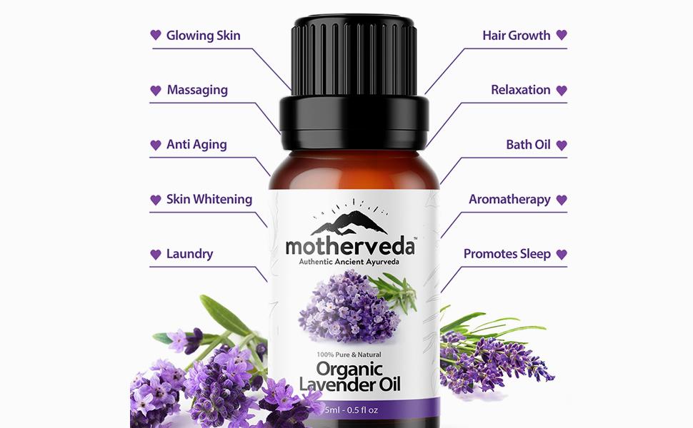 Benefits of Motherveda Lavender Oil