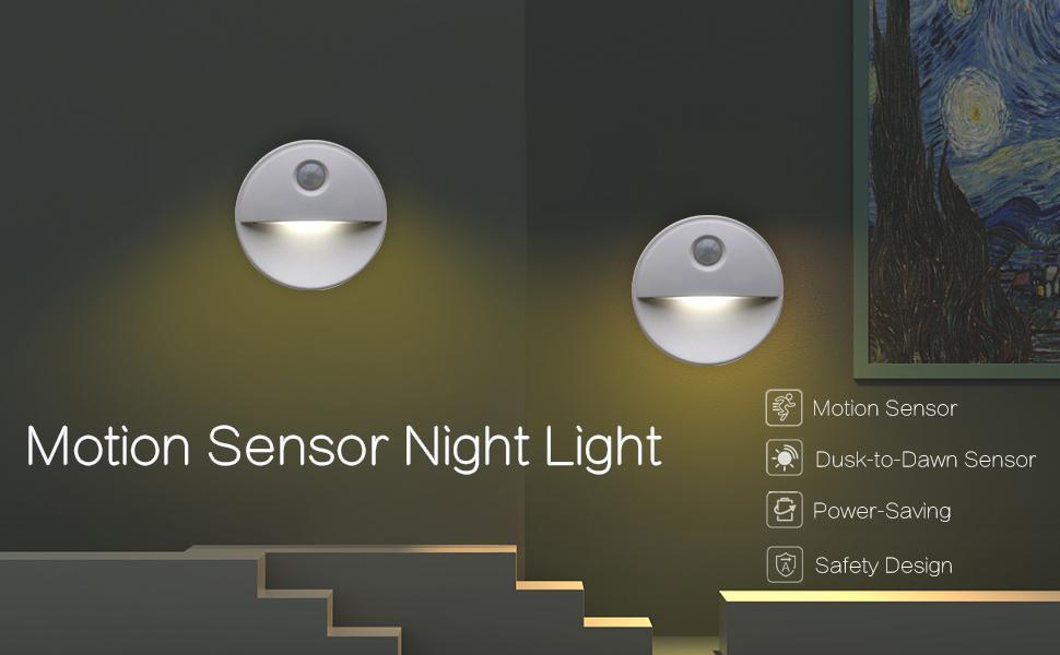 Sensor night light indoor
