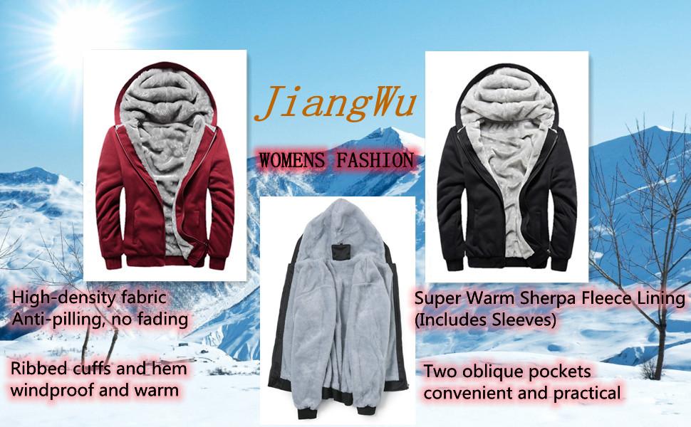 JiangWu winter clothes for women