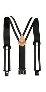Safety Reflective Suspender Hi Vis work belt suspender