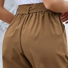 Elasticated waist with tie pants