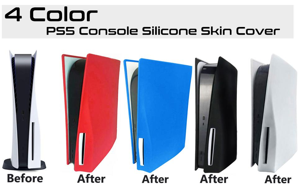 PS5 Console Silicone Cover PS5 Console Cover PlayStation 5 Console Case PS5 Silicone Case