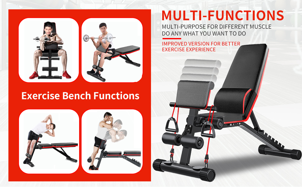 Adjustable Weight Benches