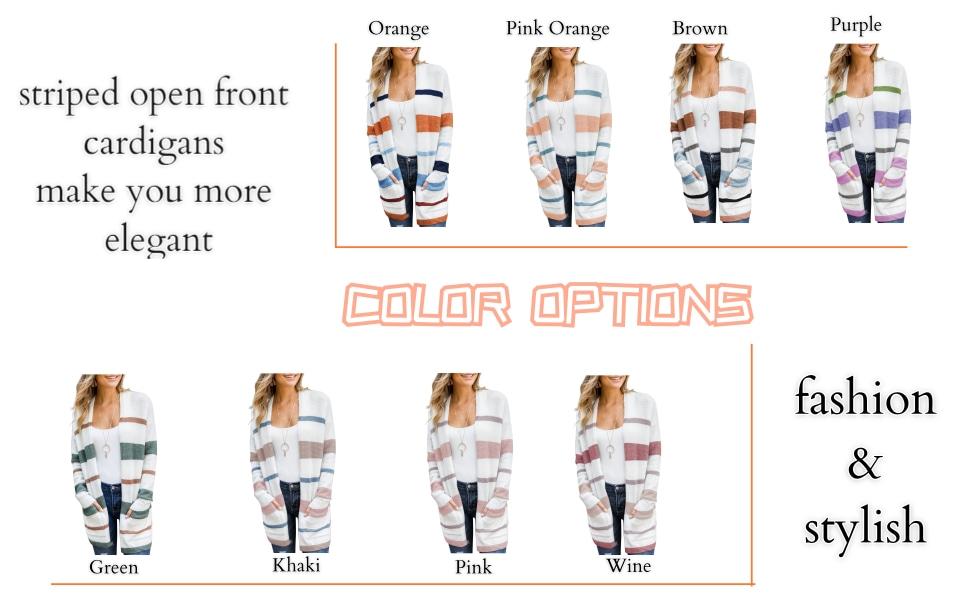 sweater coat colors