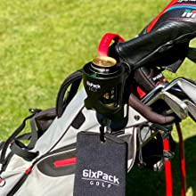 6ixpack golf cup holder golf gifts for men