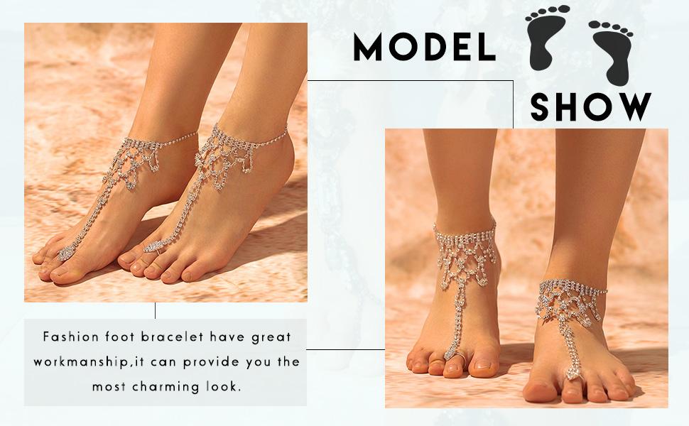 Beach foot chain
