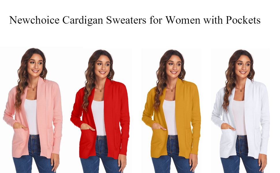 cardigan sweaters for women with pockets