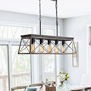 briarwood collection light fixtures isramp, farmhouse chandelier for dining room